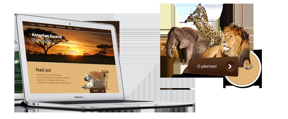 Assyrian Guard Boerboels webdesign