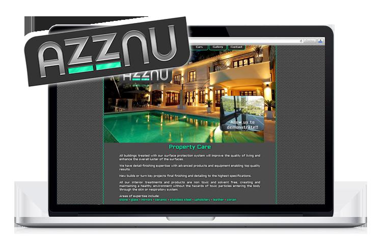 Azznu web