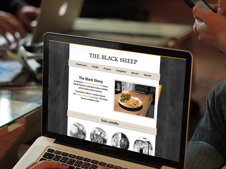 The Black Sheep web