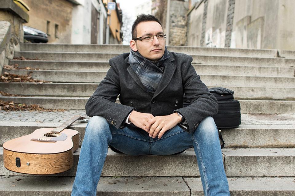 Boleslavský písničkář Tomáš Hudera