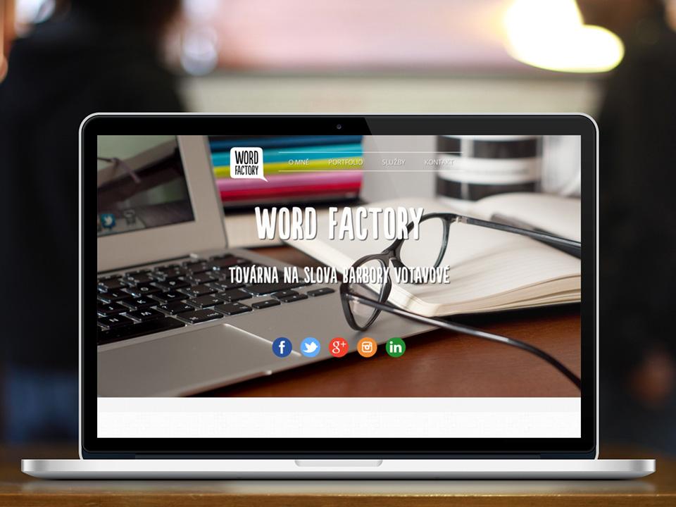 Word Factory web